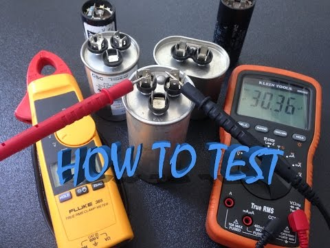download How to test capacitor