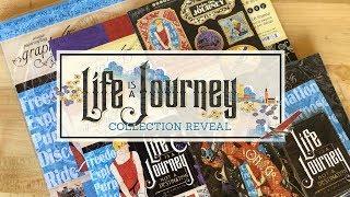 Graphic 45 LIFES A JOURNEY Sticker Set