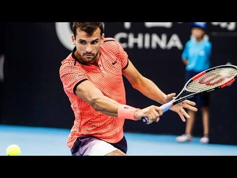 Dimitrov Hits Soft Hands Hot Shot Beijing 2016