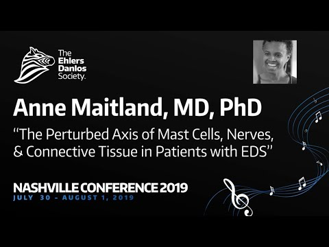 The Perturbed Axis of Mast Cells, Nerves, and Connective Tissue in Patients with EDS Anne Maitland