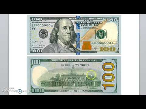 Hidden Meanings Behind The New $100 Bill