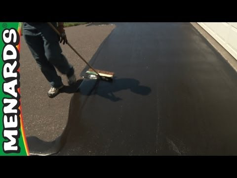 Driveway Sealer - How To Apply...