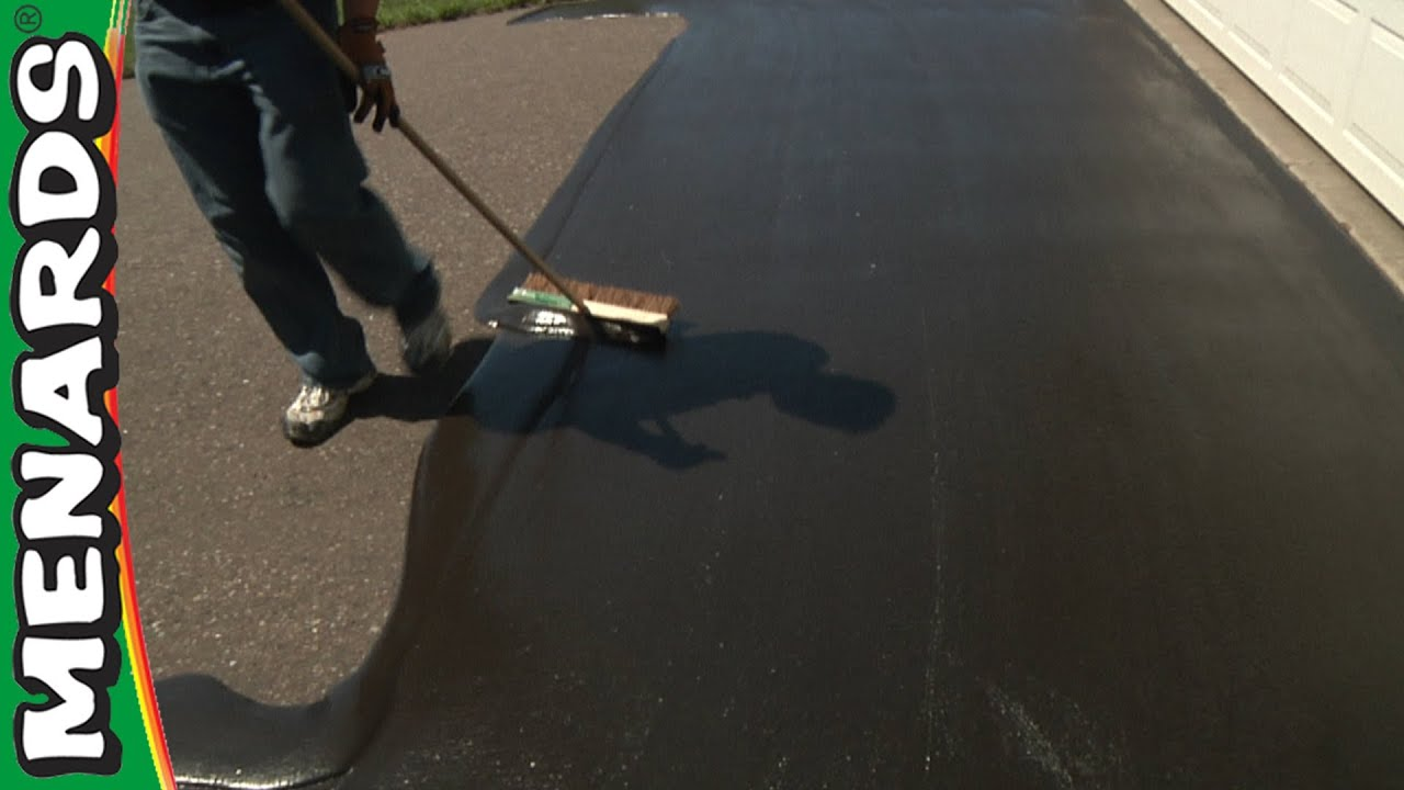 Driveway sealer how to apply menards youtube solutioingenieria Image collections