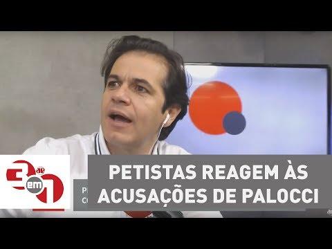 Petistas reagem às acusações de Antonio Palocci contra o ex-presidente Lula