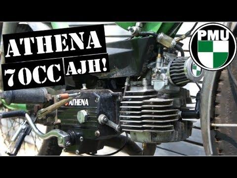 Athena AJH 70cc im Test! mit Puch Sprinter x30