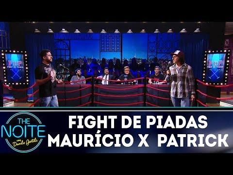 Fight de piadas Maurício Meirelles x Patrick Maia - Ep.1 | The Noite (14/03/18) thumbnail