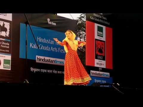 Ananya Govitrikar Kathak in Kala Ghoda Arts Festival part 3