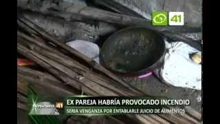 Vivienda se incendia en Victor Larco - Trujillo