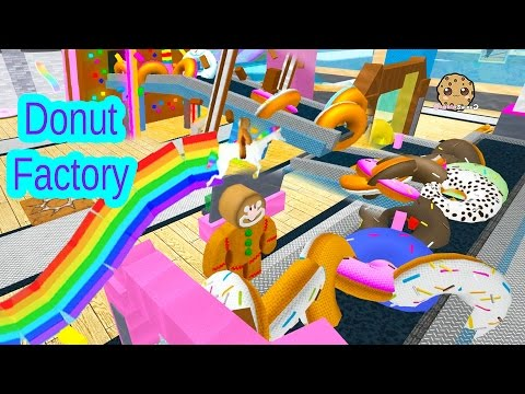 Roblox Donut Maker Factory Tycoon Cookieswirlc Let's Play Online Game Video