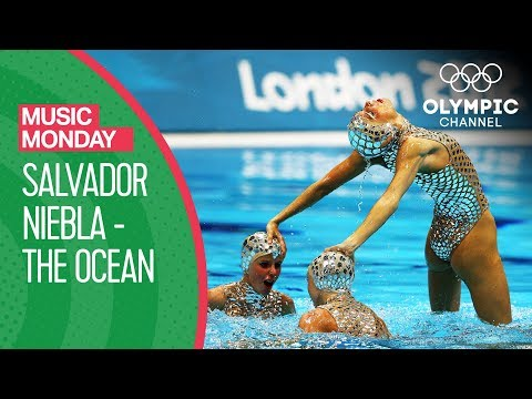 "Spain's Artistic Swimming Free Routine To ""El Oceano"" At London 2012 