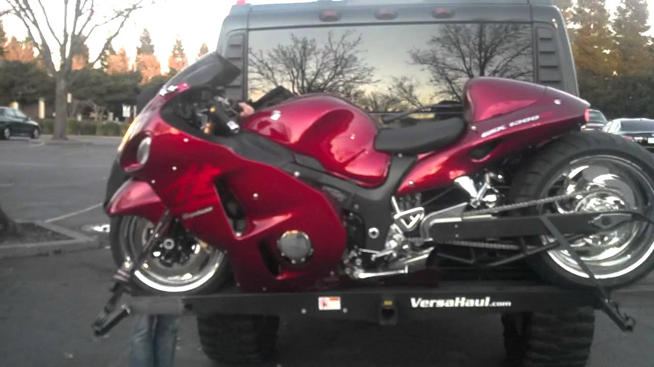 Custom Hayabusa Nitros Air Ride 300 Tire Voo Doo