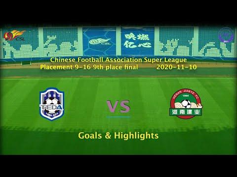 Tianjin Teda Henan Jianye Goals And Highlights