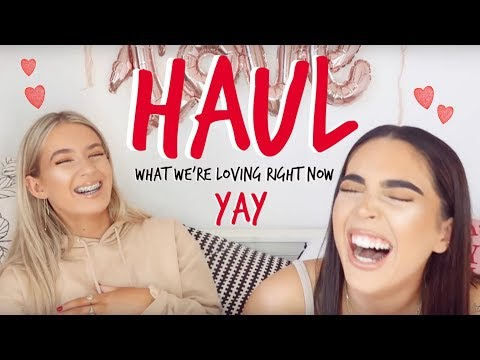 HAUL! | NIGHT OUT CLOTHES & LOADS OF FAB STUFF! | Sophia and Cinzia