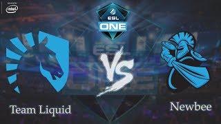 ESLOne Genting 2018 Grand finals! Team Liquid vs. Newbee full 5 games (English Commentary)