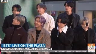 [Full] BTS on 'TODAY SHOW' 2020 LIVE @New York, Times Square