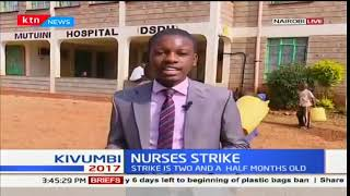 Nothing much has been happening in various hospitals due to ongoing nurses