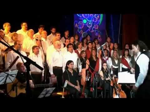 Coro Homenaje Reencuentro 2013 en Mendoza