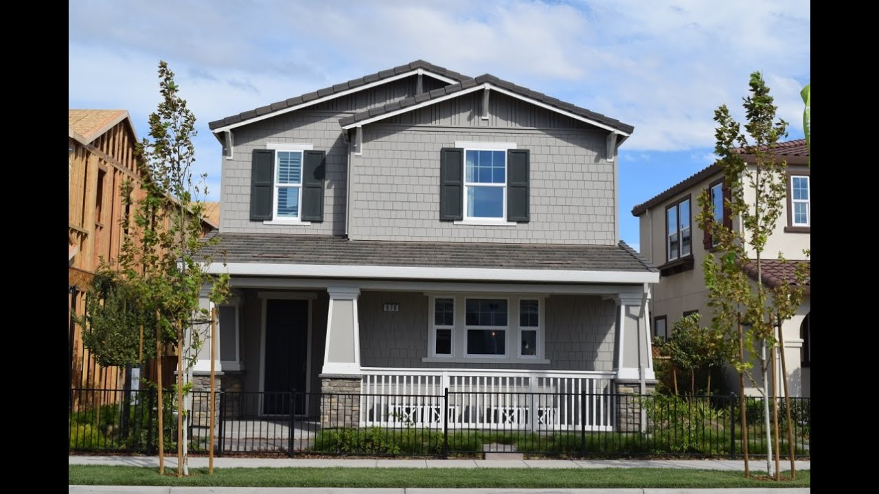Mountain House CA Signature Homes Edgemere Model Tour YouTube