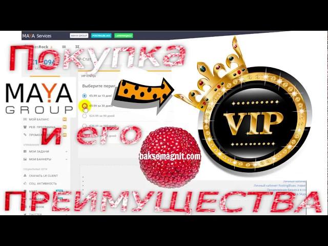 Maya Group VIP