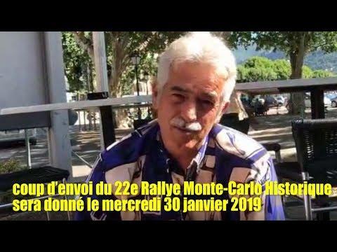 sem32   11 Août   Rallye Monte Carlo Historique sera donné le mercredi 30 janvier 2019