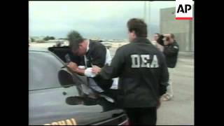 Colombian drug kingpin is extradited to US
