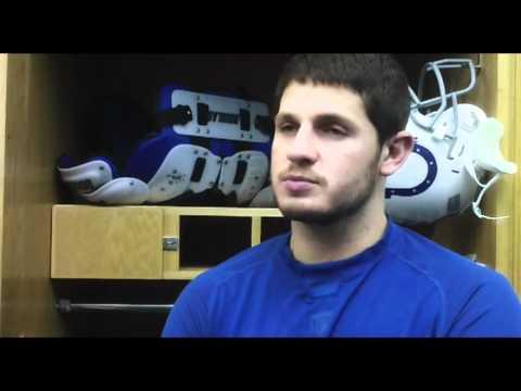 Colts QB Dan Orlovsky