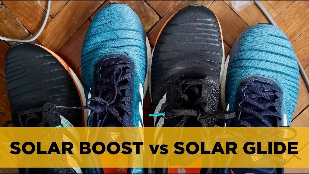 bbea2baf68097 adidas Solar Glide vs Solar Boost (+Private Label Limited Edition Duffle  Bag Review)