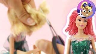 Η Barbie πάει στο κομμωτήριο για μια φανταστική αλλαγή!