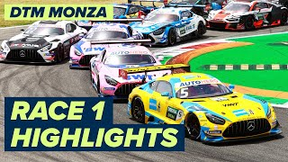 Lawson makes history!   Monza DTM Race 1   Highlights