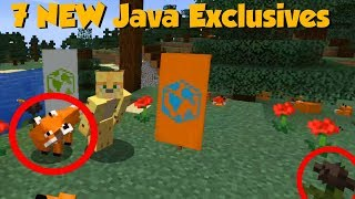 Minecraft 1.14 Village & Pillage Update - 7 Java EXCLUSIVES