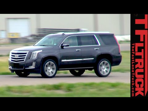 2015 Cadillac Escalade: 0-60 MPH & 60-0 MPH Performance Review