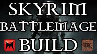 The Elder Scrolls V: Skyrim - Character Creation - Battlemage Class Build - Part 1