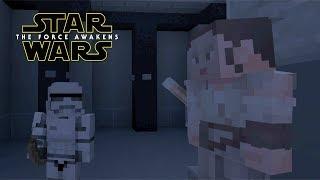 Minecraft StarWars: Rey Mind Tricks Stormtrooper Scene Recreation