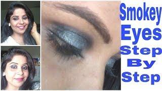 Smokey Eye party makeup tutorial | Varsha Beauty Care