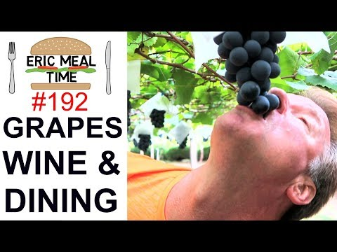 JAPAN GRAPES + WINE & COUNTRY DINING - Eric Meal Time #192