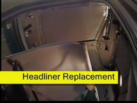 Headliner replacement, 93-97 Ford Ranger, How To DIY