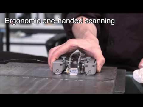 GE's Palm Flat Ultrasonic NDT Scanner