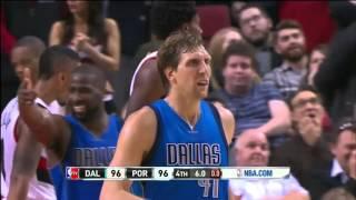 Dallas Mavericks vs Portland Trail Blazers | December 1, 2015 | NBA 2015-16 Season