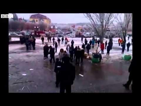 BBC News;Suicide bomber ; hits Russia #039;s Volgograd train station