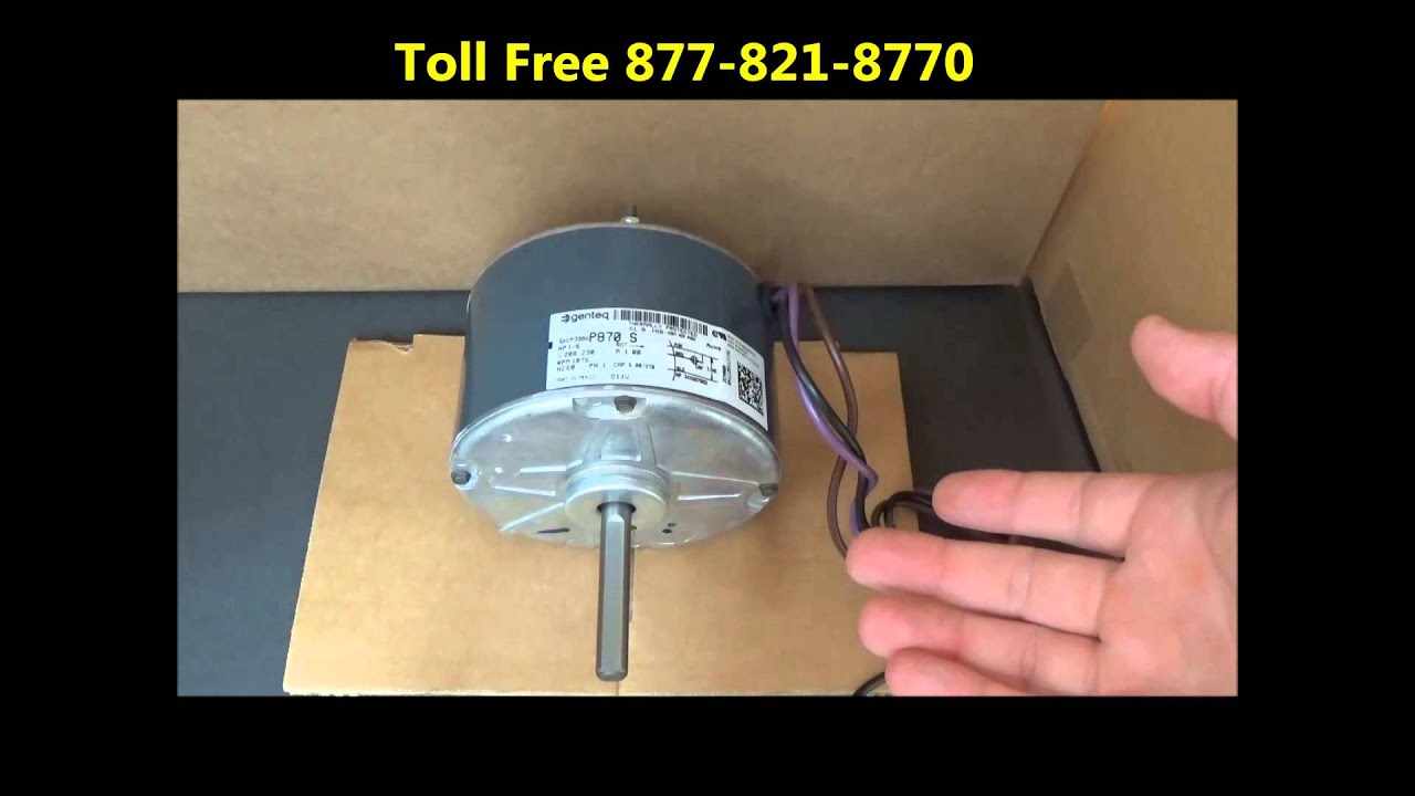 b13400251s goodman condenser fan motor [ 1280 x 720 Pixel ]