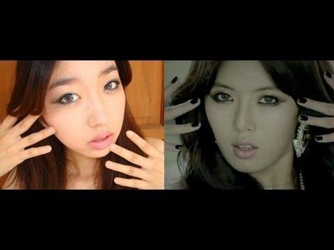 Hyuna Trouble Maker MV Inspired Make Up Tutorial