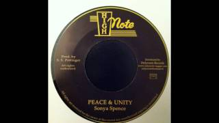 Sonya Spence - Peace And Unity / Dub