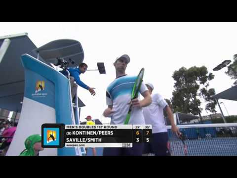 Kontinen/Peers v Saville/Smith highlights (1R) | Australian Open 2016