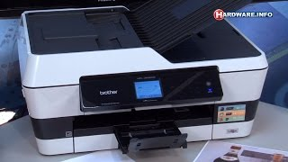 Brother MFC-J6520DW All-in-one A3 printer review - Hardware.Info TV (Dutch)