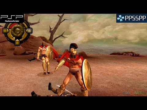 300: March to Glory - PSP Gameplay 1080p (PPSSPP)