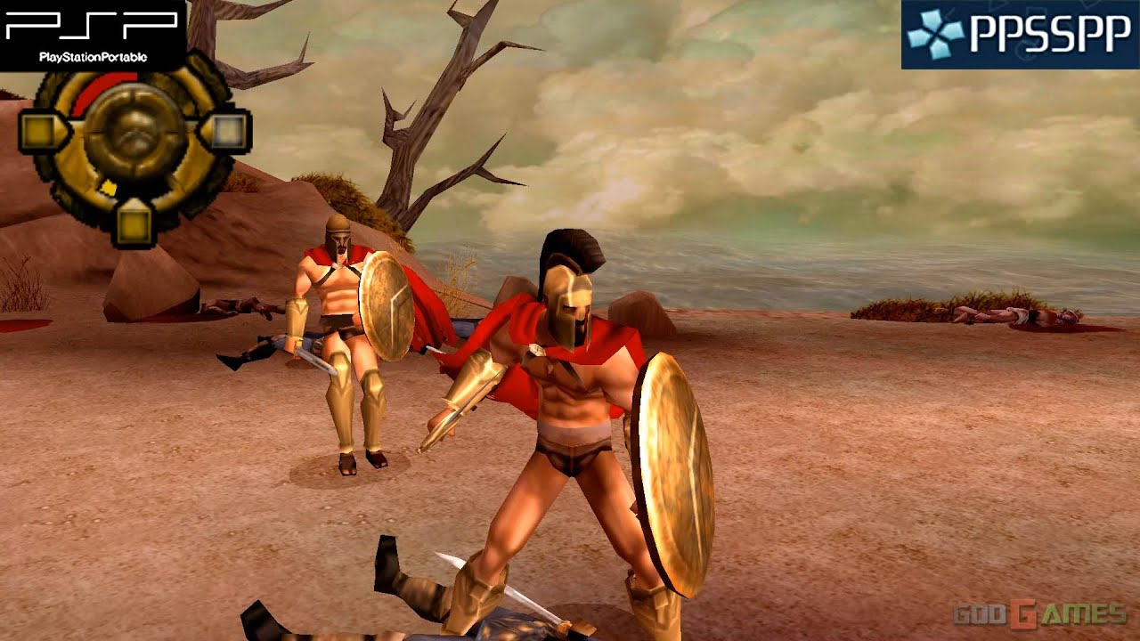 300: March to Glory – PSP Gameplay 1080p (PPSSPP)