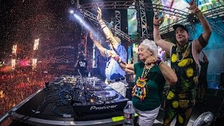 Two Generations Push The Button at EDC Las Vegas 2016