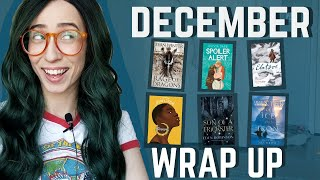 DECEMBER WRAP UP   the best, the worst, & most surprising reads of the year! [CC to come]