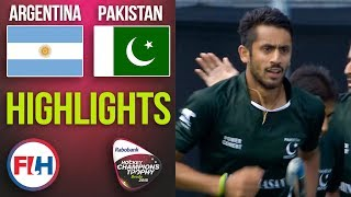Argentina v Pakistan | 2018 Men's Hockey Champions Trophy | HIGHLIGHTS