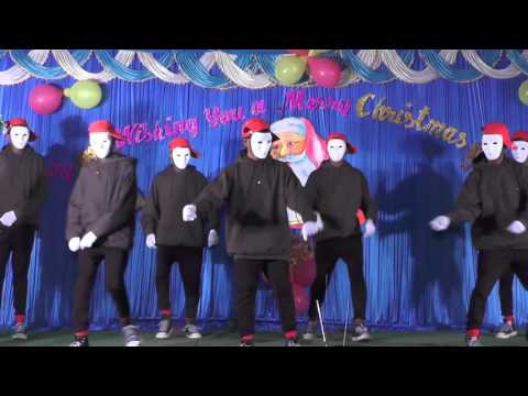 Christmas  Programme 2015 Tamil HiP Hop  Dance by staff